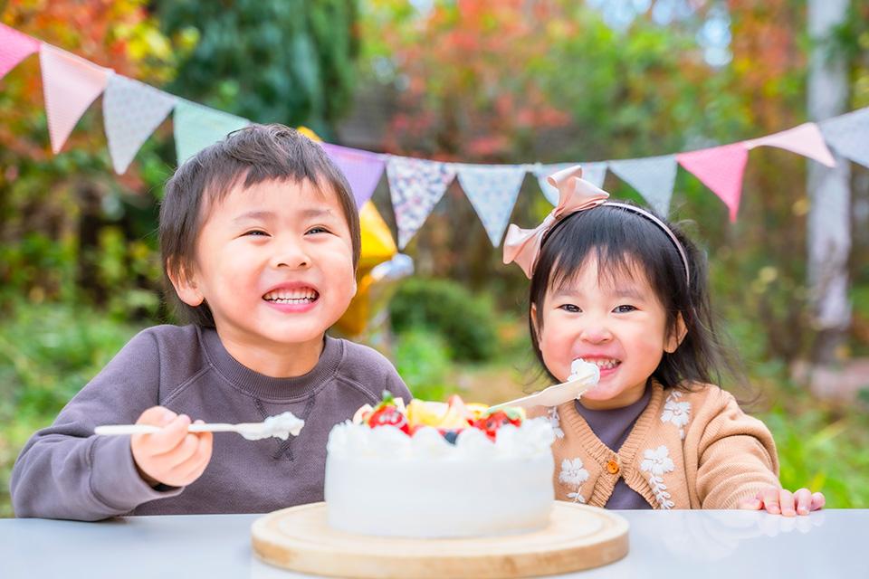 子供達の笑顔